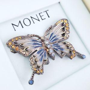 Vintage Monet Butterfly 🦋 Pin Brooch